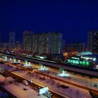 Москва вечером. :: Наталья Красникова