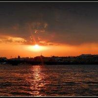 Закат над Невой :: Диана Буглак
