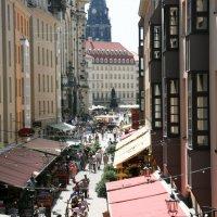 улочка в Дрездене :: Ksenya Smirnova