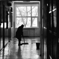 Рабочий силуэт :: Вадим Ростиславович Каминский
