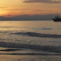 рассвет над Японским морем :: Sofia Rakitskaia