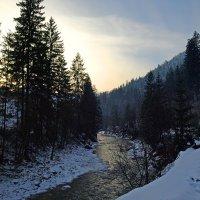 Зимний закат :: Юрий Кальченко