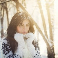 зимнее солнце :: Анна Меньшикова