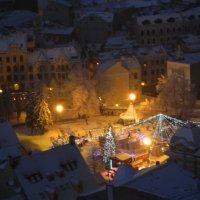 Ёлка в Старом Городе :: Lina Liber