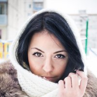 зимняя красавица :: Анна Меньшикова