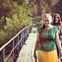 На мосту :: Эльвира Гильманова