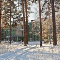 Здание бывшего санатория  НКВД...в 30е годы... :: игорь козельцев
