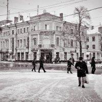 Зимний город... :: Анна Чапала