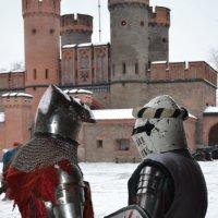 Показательные выступления во дворе Фридрихсбургской крепости :: Татьяна Поломодова