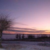 Рассвет на озере Шира :: Виктор Князев