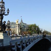 Париж, мост Александра-3 :: Lüdmila Bosova (infra-sound)