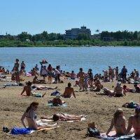 Пляж Омска :: Savayr