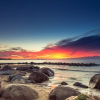 Огненный закат :: Дима Хессе