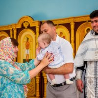 Крещение Степашки :: Татьяна