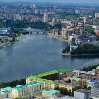 Екатеринбург с высоты 187 метров. :: Виталий Дарханов