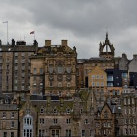 Edinburgh, Old City View :: Uno Bica