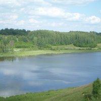 Вид на Городищенское озер :: BoxerMak Mak