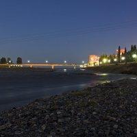 Пешеходный мост через реку Мзымту :: Дмитрий
