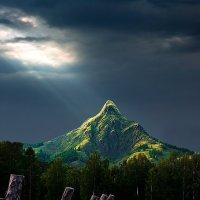 Ночь в горах :: Владимир Черкасов