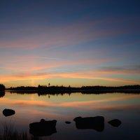 Закат на озере :: Kirill Rogozin
