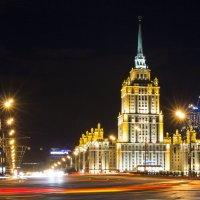Москва ночная.... :: Оксана Исмагулова