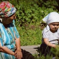 бабушки :: Светлана Бабенкова