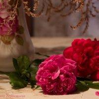 Открытка с розами :: Ирина Терентьева