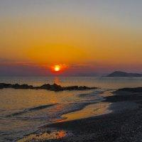 пляж утро. греция. западный крит :: юрий макаров