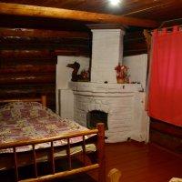 Маленький домик, русская печка... :: Ольга