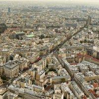 Париж с высоты птичьего полета. :: Екатерина Артамонова