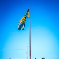 Солнечный Флаг Казахстана :: Даурен Ибагулов
