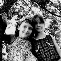 Вика и Карина :: Юлия Закопайло