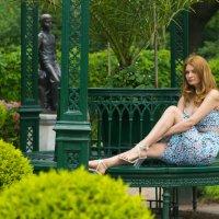 Анна, СПБ, парк Александрия :: Aleksandr Zubarev