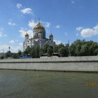 Храм Христа Спасителя :: раиса Орловская