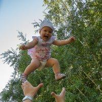 Ребенок в полете :: Наталья Богданова