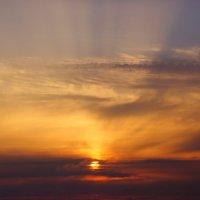 Морской закат :: Полина Макарова