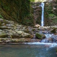 Водопад в каньоне Прохладный :: Олег Козлов