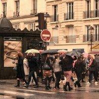 У Парижского метро... :: igor G.