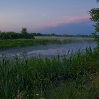 Утреннее озеро. :: Виктор Евстратов