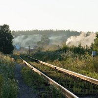 Банный день в деревне. :: Иван Щербина