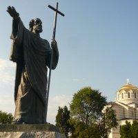 Памятник Андрею Первозванному в Херсонесе. :: Galina Belugina