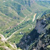 Дороги к монастырю Монтсеррат :: Альфия Еникеева