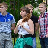 Стоят мальчонки, стоят в сторонке, совсем  на меня не глядят... :: NICKIII Михаил Г.