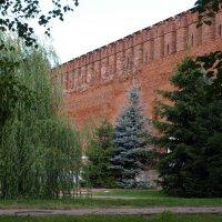 За крепостной стеной :: Геннадий Кульков