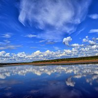 Облака в реке :: Александр Преображенский