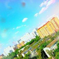 Вид из окна. :: Алина