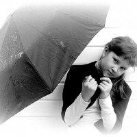 Черно-белый летний дождь! :: A. SMIRNOV