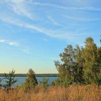 Небесная акварель :: Лидия (naum.lidiya)