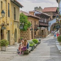 Испанская деревня :: Дмитрий Карышев