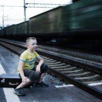 На вокзале :: Александр Власенко
